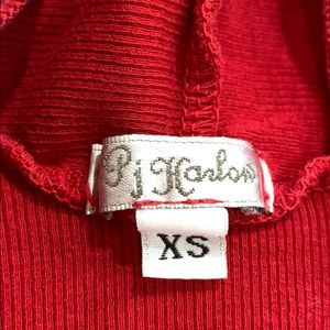 pj harlow Intimates & Sleepwear - Pj harlow red cardigan robe
